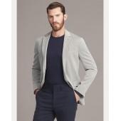 Wool Twill Suit Jacket