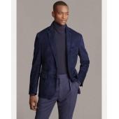 Suede Suit Jacket