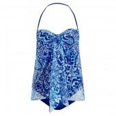 Convertible Print Swimsuit