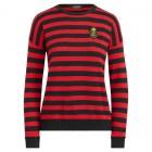 Crest Striped Sweater