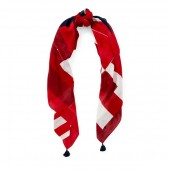 Patchwork Flag Square Scarf