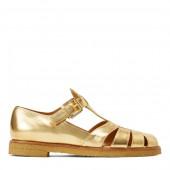 Sidney Metallic Leather Shoe