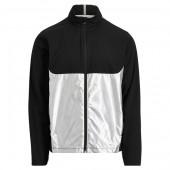 Paneled Interlock Golf Jacket