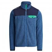Fleece Mockneck Jacket