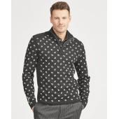 Cotton-Blend Golf Sweater