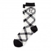 RL Buffalo Check Boot Socks