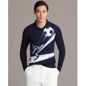 Merino Wool Graphic Sweater