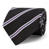 Striped Silk Mogador Tie