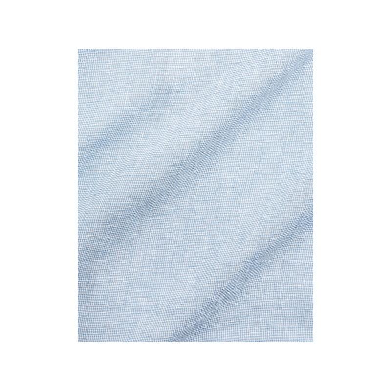 Houndstooth Linen Shirt