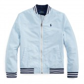 Cotton Oxford Baseball Jacket