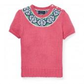 Fair Isle Cotton Sweater