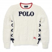 Intarsia-Anchor Cotton Sweater