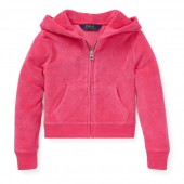 Cotton-Blend-Terry Hoodie