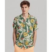 Classic Fit Banana-Print Shirt