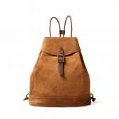 Roughout Leather Backpack