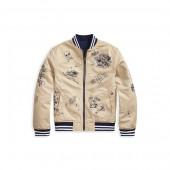 Reversible Cotton Chino Jacket