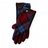 Tartan Wool Tech Gloves
