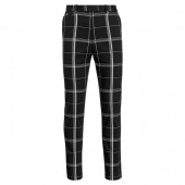 Tailored Fit Plaid Golf Pant