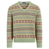 Fair Isle Golf Sweater
