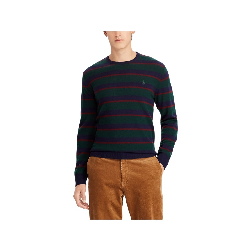 [폴로 랄프로렌] Striped Merino Wool Sweater
