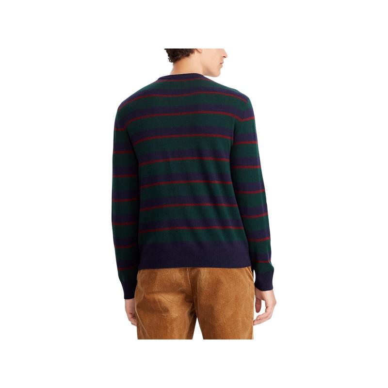 [폴로 랄프로렌] Striped Merino Wool Sweater