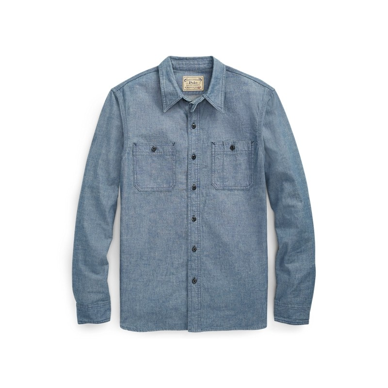 [폴로 랄프로렌] Classic Fit Chambray Workshirt