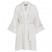 Dot Satin Kimono