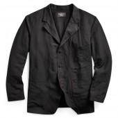 Wool-Linen Canvas Sport Coat