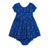 Sailboat Dress  Bloomer