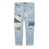 Astor Patchwork Slim Jean