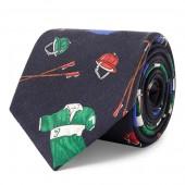 Print Silk Narrow Tie