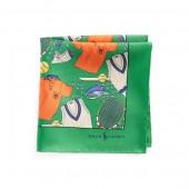Tennis Silk Pocket Square