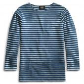 Indigo Boatneck Shirt
