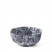 Faded Peony Octagonal Bowl