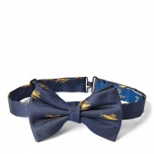 Grasshopper Silk Club Bow Tie