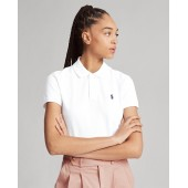 Classic Fit Eyelet Polo Shirt