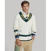 Distressed Cricket Sweater