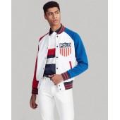 Polo Shield Baseball Jacket