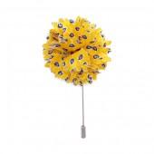 Small Floral Silk Pin