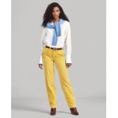 Cotton Corduroy Straight Pant