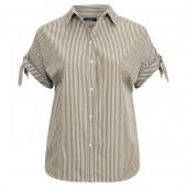 Cotton Tie-Sleeve Shirt