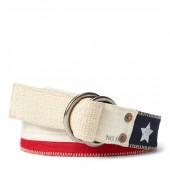 Flag Linen O-Ring Belt