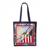 Sporting Canvas Tote