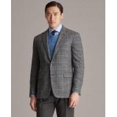 Gregory Plaid Suit Jacket