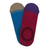 DeadSoxy No Show Sock (2 Pack)